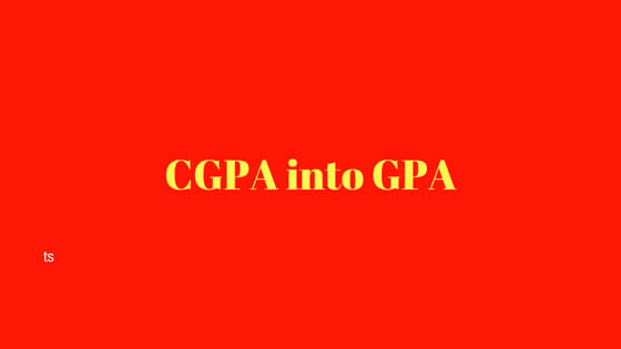 How to convert CGPA into GPA | Indian Percentage to German GPA Calculator