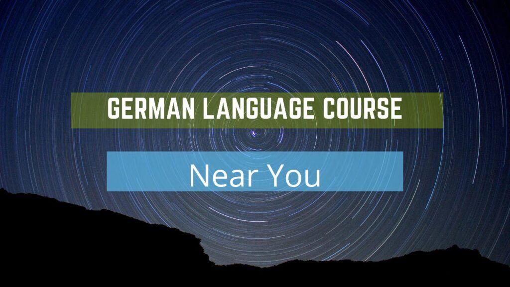 German Language Course near me